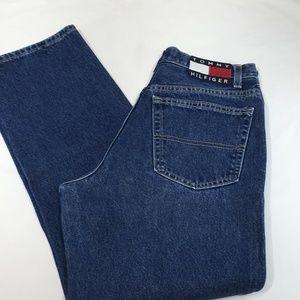 VTG Tommy Hilfiger FLAG LOGO Big Tag Jeans 9